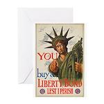 You! Buy Liberty Bonds Greeting Card