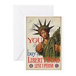 You! Buy Liberty Bonds Greeting Cards (Pk of 20)