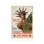 You! Buy Liberty Bonds Sticker (Rectangle)