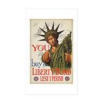 You! Buy Liberty Bonds Sticker (Rectangle 10 pk)