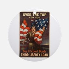 Over the Top Ornament (Round)