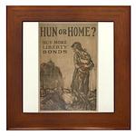 Hun or Home? Framed Tile