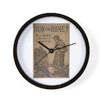 Hun or Home? Wall Clock
