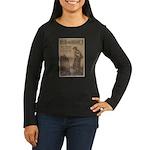 Hun or Home? Women's Long Sleeve Dark T-Shirt