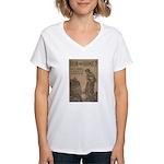 Hun or Home? Women's V-Neck T-Shirt