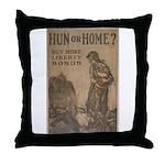 Hun or Home? Throw Pillow