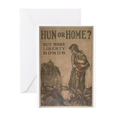 Hun or Home? Greeting Card