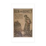 Hun or Home? Sticker (Rectangle 10 pk)