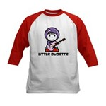 Kids Little Dudette Baseball Jersey