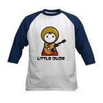 'Little Dude' Kids Baseball Jersey