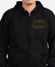 I'M WITH THE... Zip Hoodie