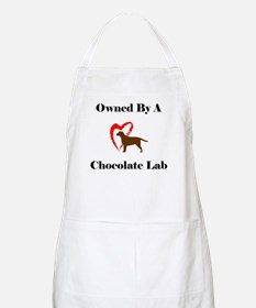 Owned by a Chocolate Labrador BBQ Apron