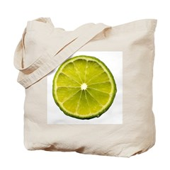 Lime Tote Bag