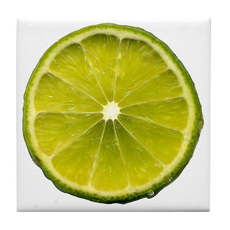 Lime Tile Coaster
