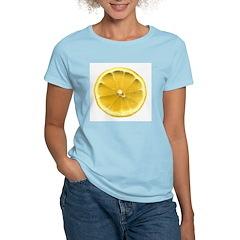 Lemon Women's Pink T-Shirt