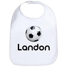 Soccer Landon Bib
