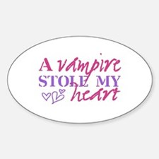 A Vampire Stole ... Decal