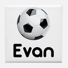 Soccer Evan Tile Coaster