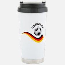 Soccer GERMANY Ball Stainless Steel Travel Mug