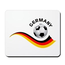 Soccer GERMANY Ball Mousepad