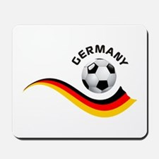 Soccer GERMANY Ball Mousepad