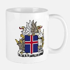 Iceland Coat of Arms Emblem Mug