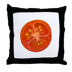 Grape Tomato Throw Pillow