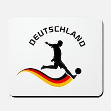 Soccer DEUTSCHLAND Player Mousepad