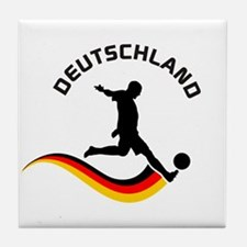 Soccer DEUTSCHLAND Player Tile Coaster