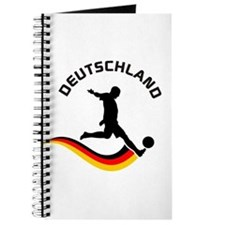 Soccer DEUTSCHLAND Player Journal