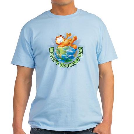World's Greatest Dad! Light T-Shirt