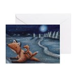 Fox Greeting Cards (Pk of 20)