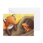 Fox Greeting Cards (Pk of 10)