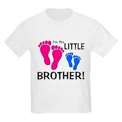 Little Brother Baby Footprint T-Shirt