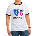 Big Brother Baby Footprints Ringer T