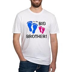 Big Brother Baby Footprints Shirt