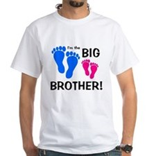 Big Brother Baby Footprints Shirt