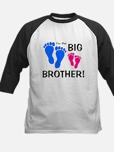 Big Brother Baby Footprints Tee