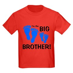 Big Brother Baby Footprints T