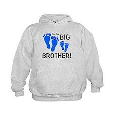 Big Brother Baby Footprints Hoodie