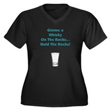 Cool Drinking games Women's Plus Size V-Neck Dark T-Shirt