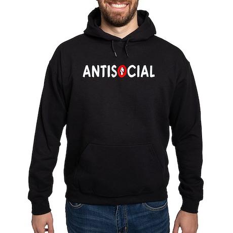 Antisocial Hoodie (dark)