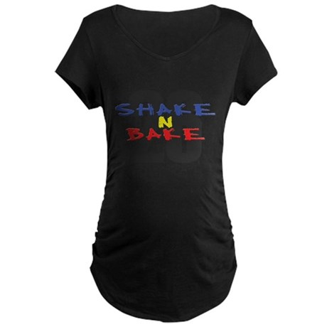 Shake N Bake Maternity Dark T-Shirt