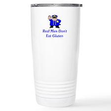 Real Men Don't Eat Gluten Travel Mug