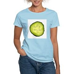 English Cucumber Women's Pink T-Shirt