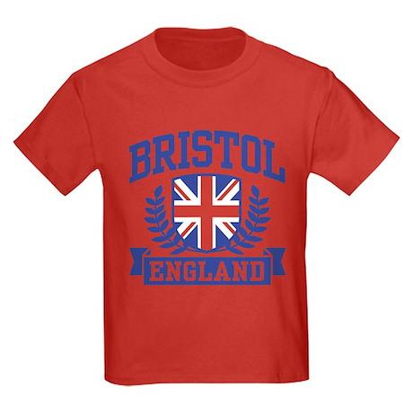 Bristol England Kids Dark T-Shirt