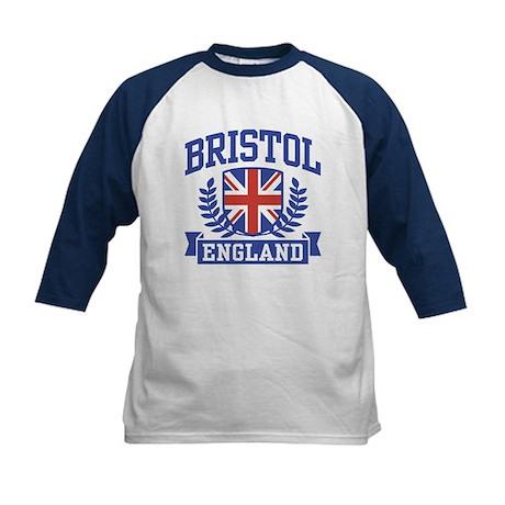 Bristol England Kids Baseball Jersey