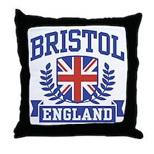 Bristol England Throw Pillow