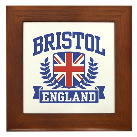 Bristol England Framed Tile