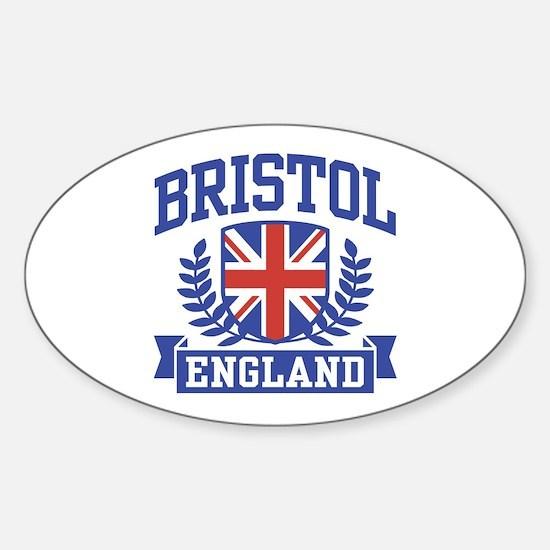 Bristol England Sticker (Oval)